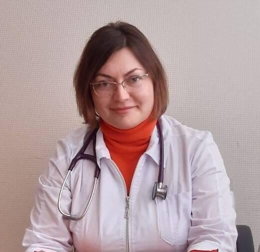 <strong>Иваненко Ольга<br/> Николаевна</strong> : <em>Врач кардиолог высшей категории, <br/> врач УЗД</em> <br/>